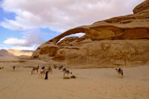 Yellow Arch of Wadi Rum