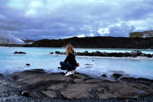 paysage du blue lagoon