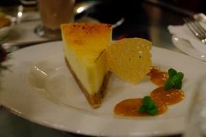 cheesecacke au New York café