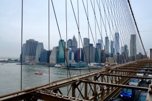 Skyline Brooklyn Bridge