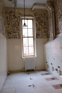 """Toilettes customisés par Keith Haring"""""""