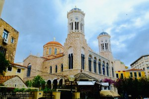 cathédrale de l'Annonciation métropolitaine orthodoxe d'Athènes
