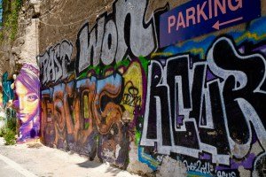 street art quartier Psiri