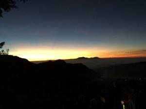 vu du Mont Penanjakan