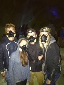 masques a gaz du Kawah Ijen