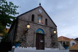 l'église de l'ile des saintes