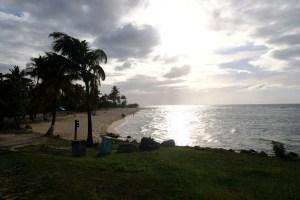 la plage de La Chapelle à Anse Bertrand