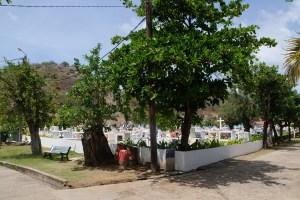 cimetière marin à l'ile des Saintes