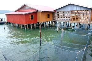 L'île de Koh Rong pêche