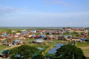 Phnom Krom Temple vue