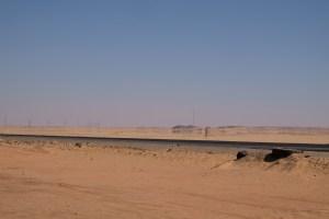 mirage dans le désert