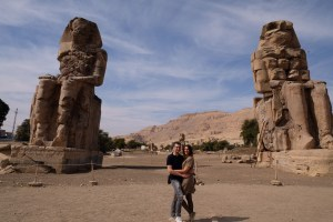 colosses de Memnon !