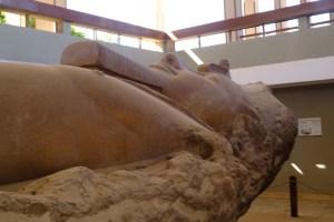 site de Memphis statue de Ramses II