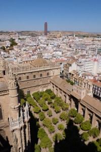 Vue de la Giralda à Séville