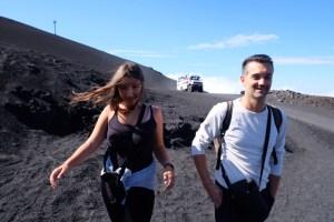 En route pour l'Etna !