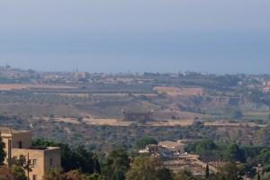 vue sur le belvédère de la vallée des temples