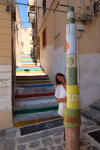 ruelles colorées d'Agrigente