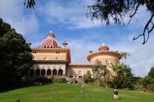 Le jardin du palacio de Monserrate