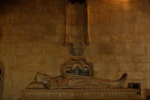 les tombeaux de Vasco de Gama et de Luis de Camões.