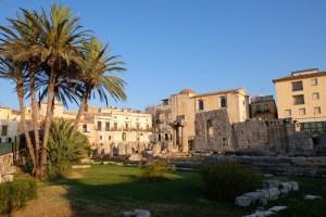 le temple grec d'Apollon