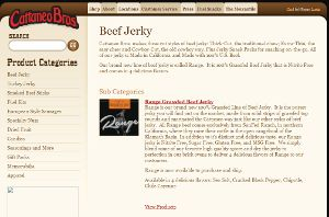 Cattaneo Brothers Home Page - they have a proprietary paleo jerky recipe, so they are not a good option if you need to know exactly all of the ingredients and spices used in your paleo jerky