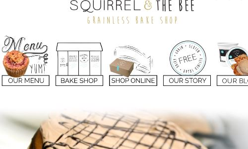 The Squirrel & the Bee Grain Free Bake Shop in NJ, home page screenshot pictured, offers scd baked goods and other items through their scd food store, while simultaneously offering a SCD friendly cafe and restaurant. Their SCD friendly baked goods are available for shipping through the mail, and SCD caked, scd cookies, scd biscotti and scd treats look beautiful.