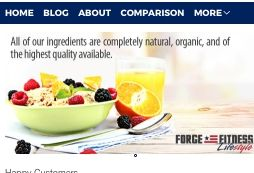 This image is a screen capture of the Forge Lifestyle home page. Forge Lifestyle is a Paleo home delivery service focusing on those going grain free to improve their athletic strength, endurance and health. They offer Paleo prepared meal delivery to residents across the country, by shipping their Paleo friendly re-heatable meals via express shipping. If you are looking for a quick way to get your Paleo dinners delivered to your home, Forge Lifestyle may just be that solution - especially if you live in their area in Southern California. However, they do offer nationwide shipping so anyone looking to get Paleo prepared meals delivered can order from Forge Lifestyle, no matter where in America you live.