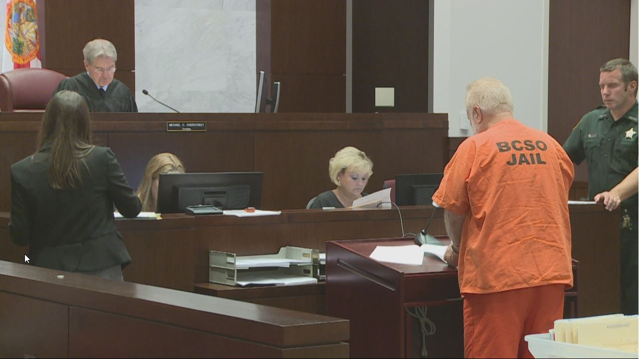 Andrew Pace in Court