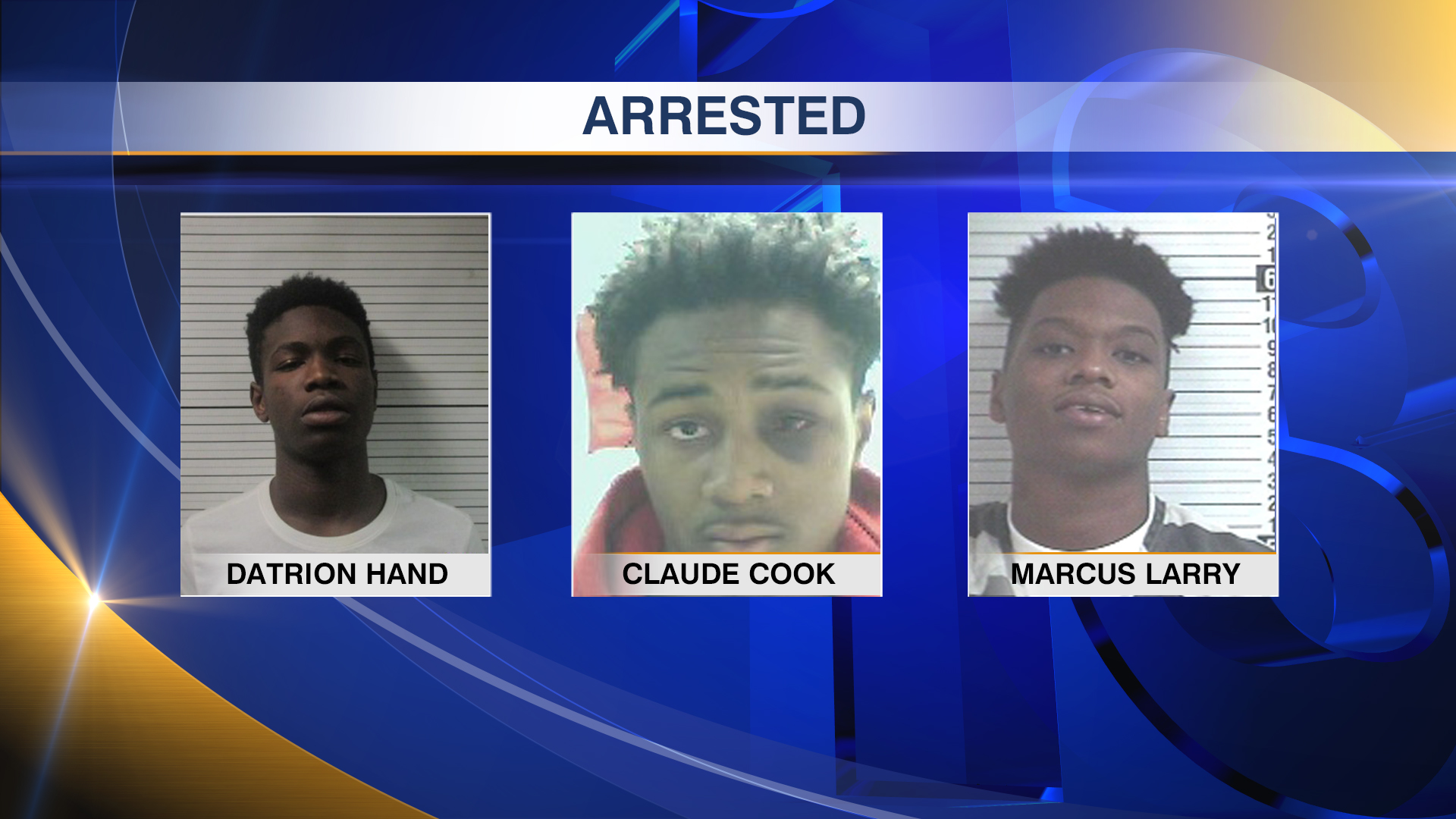 Datrion Hand Claude Cook Marcus Larry Triple Arrested_1483659691308.jpg