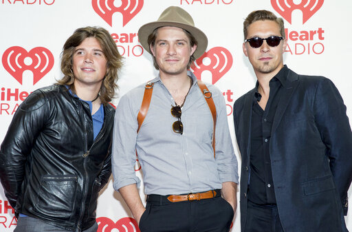 Zac, left, Taylor, and Isaac of Hanson