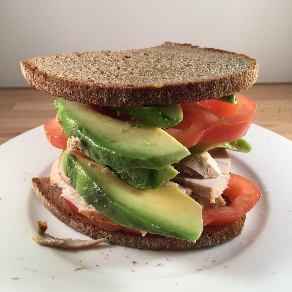 Tomato & Avocado Sandwiches