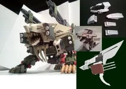 papercraft zoids