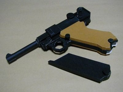Gun papercraft luger p08 my paper craft pronofoot35fo Gallery