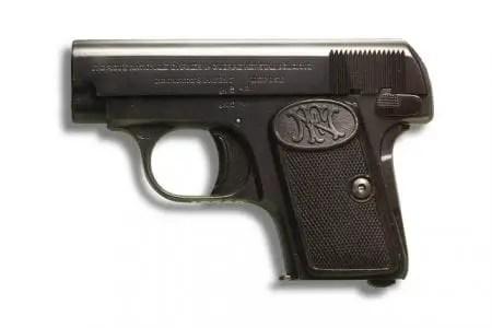 Fn 1906 Gun Papercraft