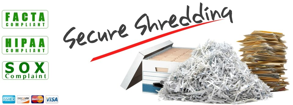 secure paper shredding service
