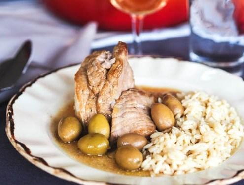 veau aux olives vertes