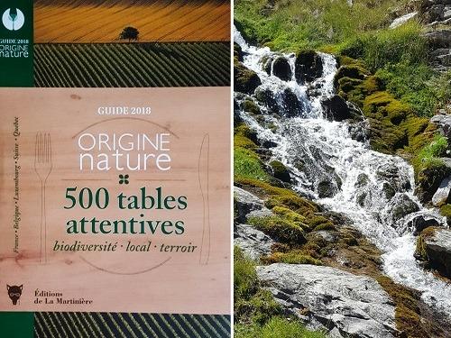 Présentation du guide culinaire gastronomique Origine nature