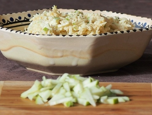 格兰尼·史密斯Green Apple Celery Remoulade