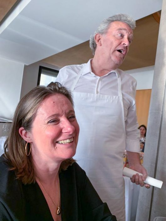 Chef Alain Passard Arpège et Florence Richomme My Parisian Kitchen