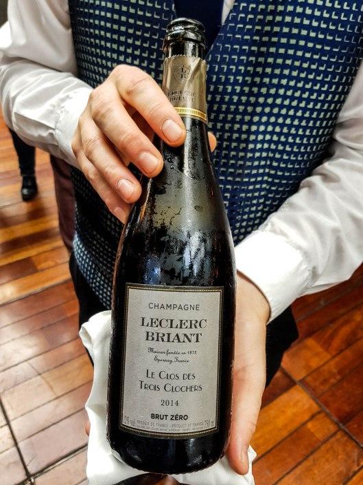 """Champagne Extra brut millésime 2014 """"Clos des 3 Clochers"""", Champagne Leclerc Briant"""