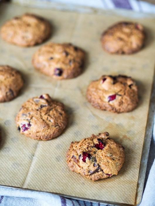 plaque de pâtisserie et ses cookies