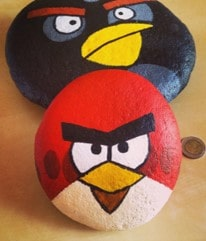 Book pebble artist for your birthday party