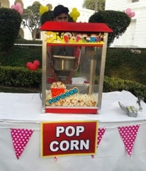 Book popcorn counter for birthday party entertainment in Bangalore-min