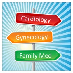 physician assistant specialties roadsign