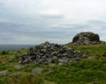 Photo of the cairns at Two Lads