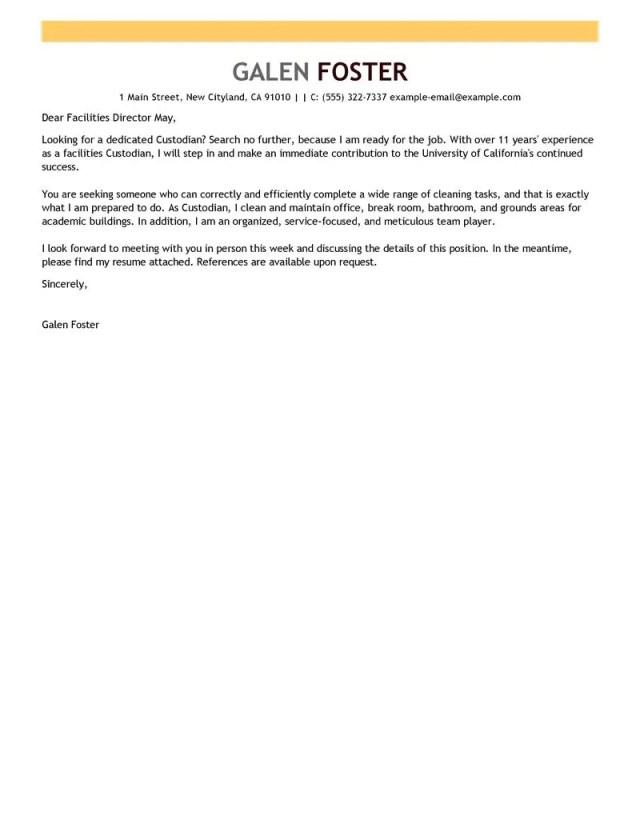 sample cover letter for maintenance position | Ownerletter.co