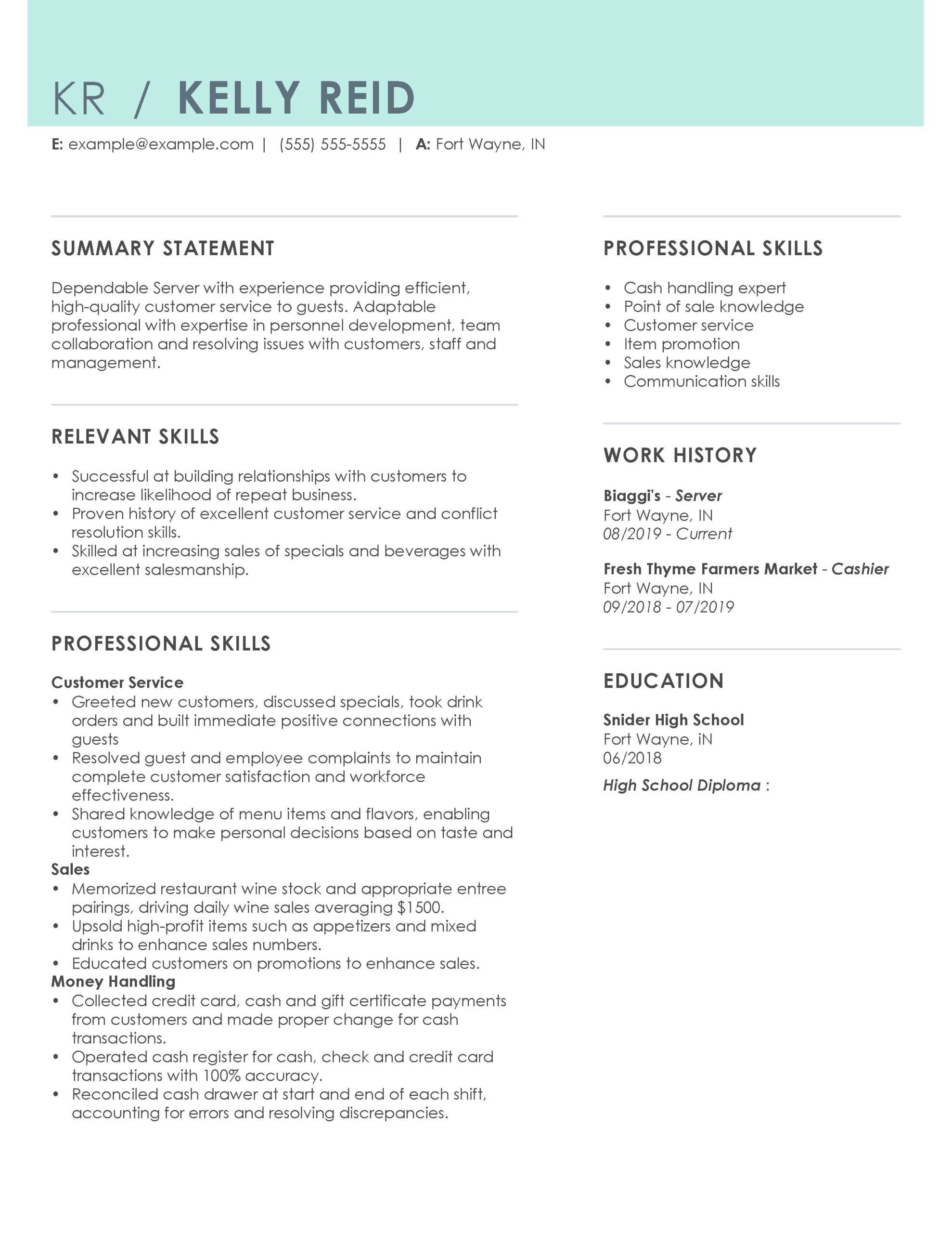 How to create sample resumes. Professional Sales Resume Examples   MyPerfectResume