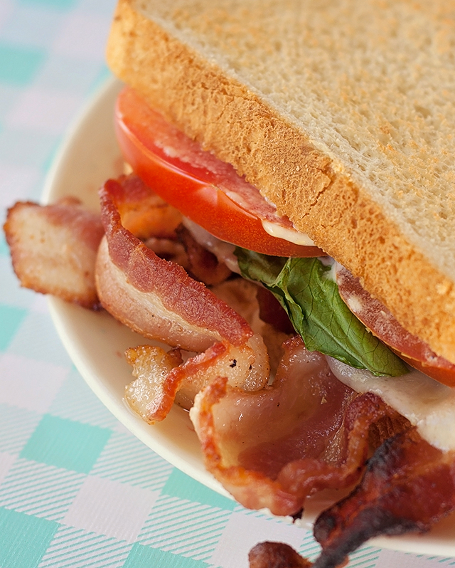 BLT Grilled Cheese with Dijonaise (Mary's Secret Ingredients Box)