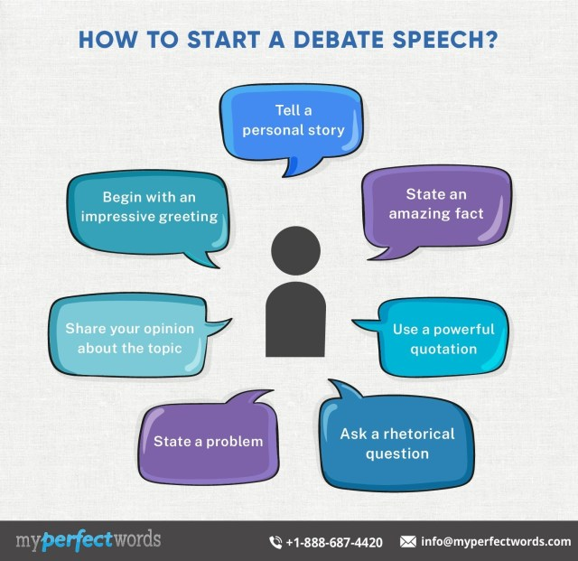 How to Write a Debate Speech - A Complete Guide