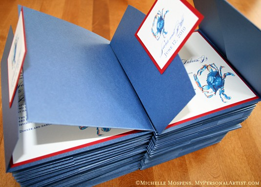 Pocket Invitations For Wedding Pure White Cards Custom Invites Set